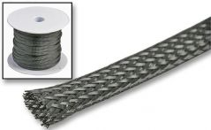 PRO POWER 3223322  Braided Sleeving 6Mm Black 50M